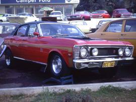 Paul was working in Sydney selling Ford Falcon GT now a highly valuable Classic Car