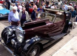 Bentley Derby at local classic car event